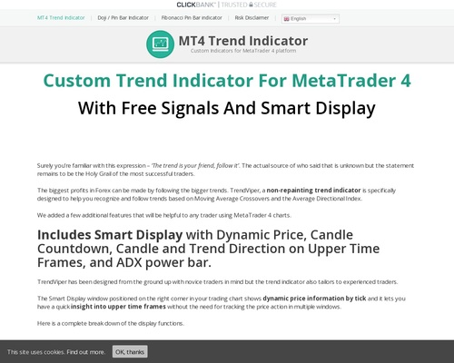 Mt4 Technical Indicators With Signals For Forex – 50% Commission