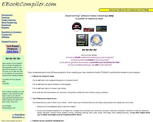 Ebook Compiler Software & More