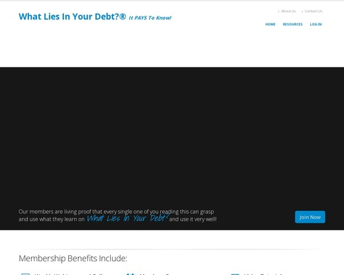 What Lies In Your Debt? 23% Commision Per Month