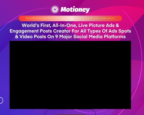 Motioney – #1 Picture To Video Creator