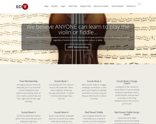Online Violin & Fiddle Lessons